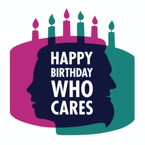 Happy Birthday Who Cares on Smash Notes
